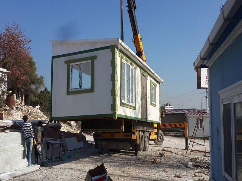 Prefabrik Ev-Demirel Prefabrik İzmir çalışma resimleri