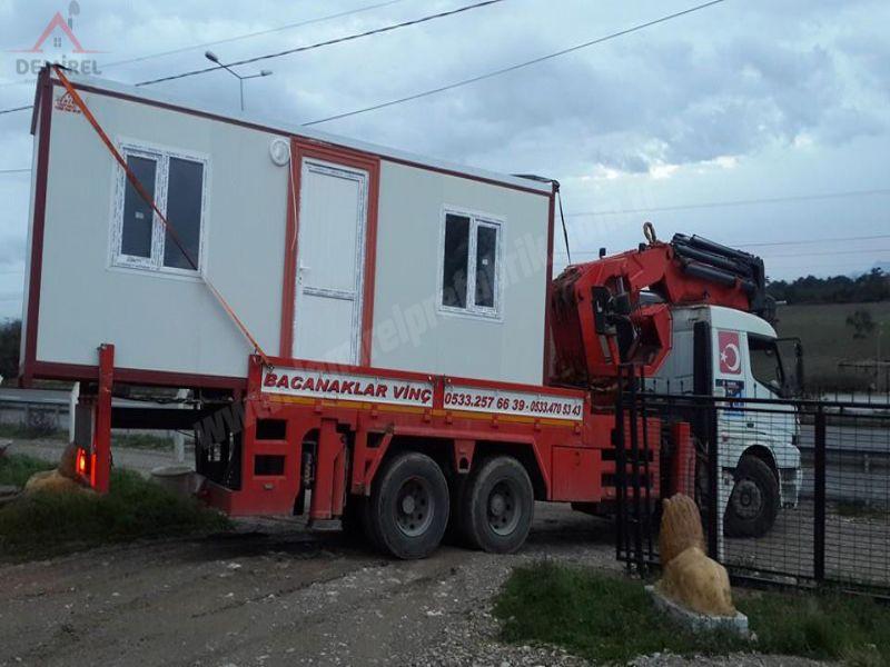 Konteyner-Prefabrik Ev ve Konteyner imalatı - izmir