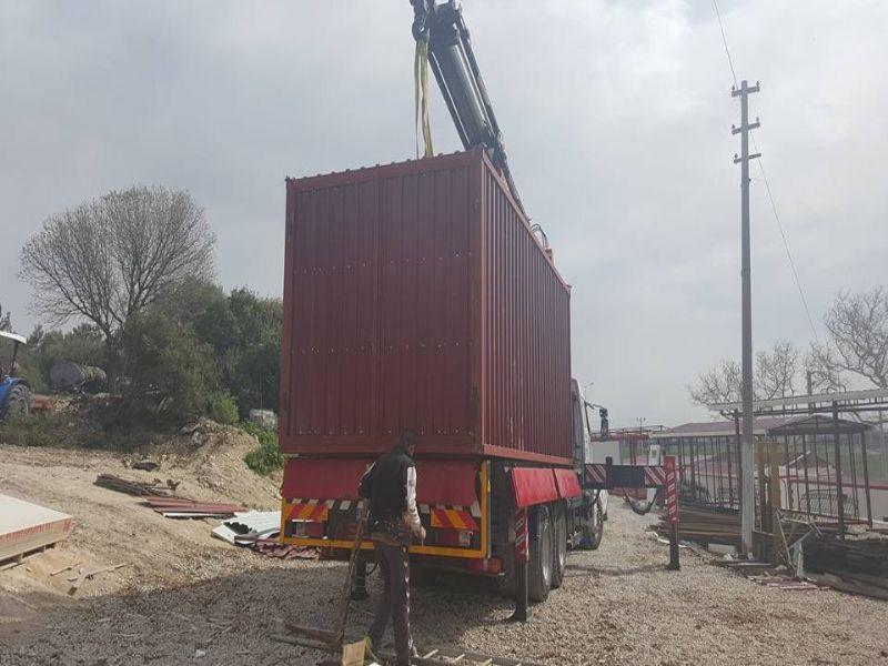 Konteyner-Prefabrik ev-Konteyner imalatı-İzmir