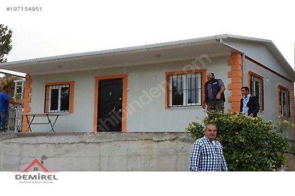 İzmir prefabrik yapı imalatı ve uygun fiyat garantisi sadece demirel prefabrikte