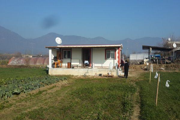 Bayındır İzmirde prefabrik ev tamamlandı tebrikler